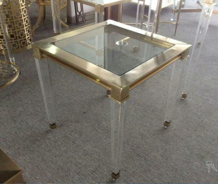 Acrylic Accent Table Metal Table Glass Table Product Center